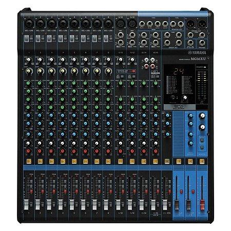 Yamaha Mg16xu | Mixer 16 Canais (usb E Efeitos)
