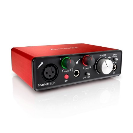 Focusrite  Scarlett Solo | Interface de Audio
