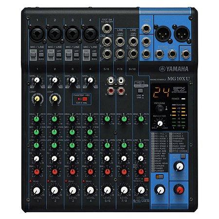 Yamaha Mg10xu | Mixer 10 Canais (usb E Efeitos)
