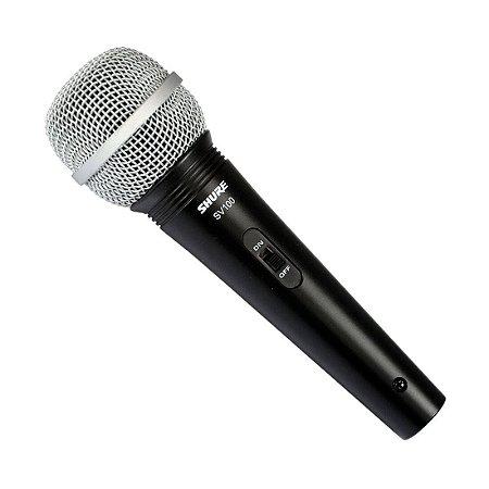 Shure SV100 | Microfone com Fio de Mão