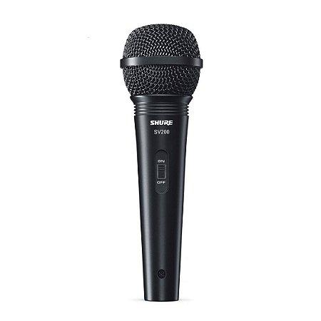 Shure SV200 | Microfone com Fio de Mão