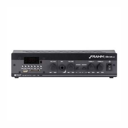 Frahm SLIM 1600 APP   Amplificador de Som Ambiente Bluetooth
