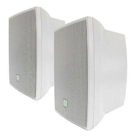 JBL C621 Branca | Caixa Acústica 6 Pol (Par)