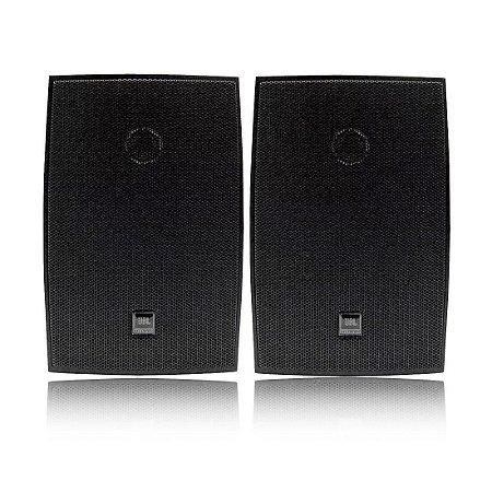 JBL C621 Preta | Caixa Acústica 6 Pol (Par)