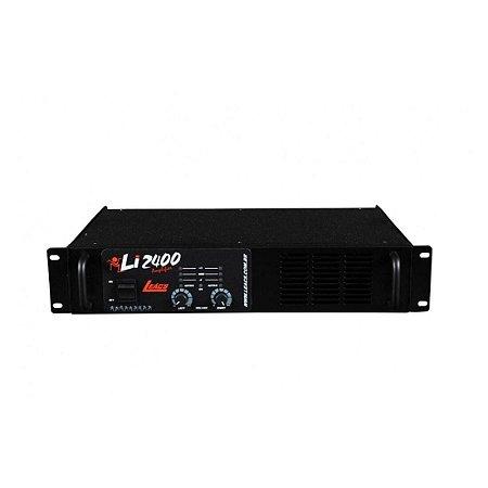 Leacs Li2400 | Amplificador de Potencia 600W Rms
