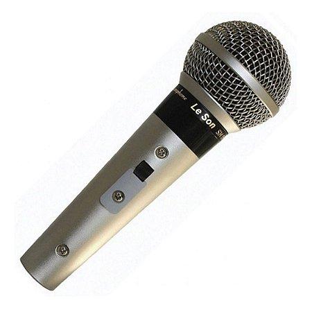 Leson SM58 P4 | Microfone com Fio de Mão