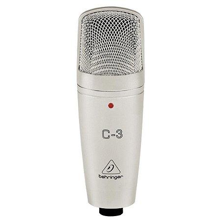 Behringer C3 | Microfone Condensador de Estudio
