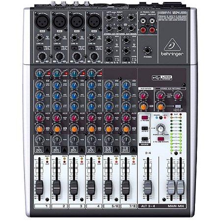 Behringer XENYX 1204 USB | Mesa de Som 12 Canais
