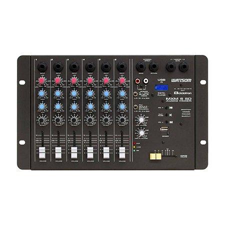 Ciclotron MXM 6 SD | Mesa de Som 6 Canais com USB