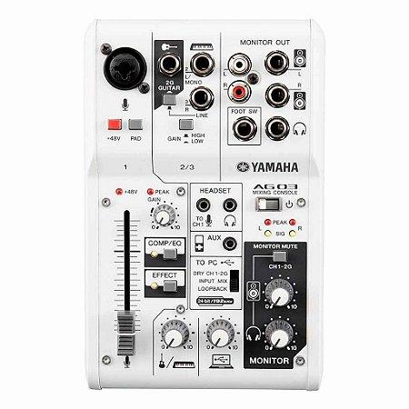 Yamaha AG03 | Mesa de Som e Interface de Áudio