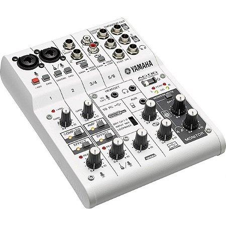 Yamaha AG06 | Mesa de Som e Interface de Áudio