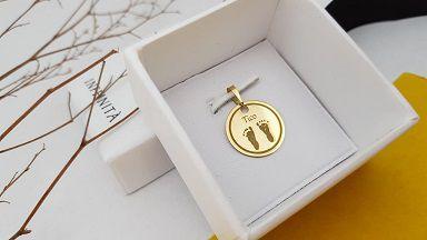 Pingente Medalha 1,8cm