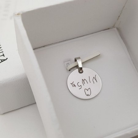 Pingente ou Berloque Medalha 1,5cm