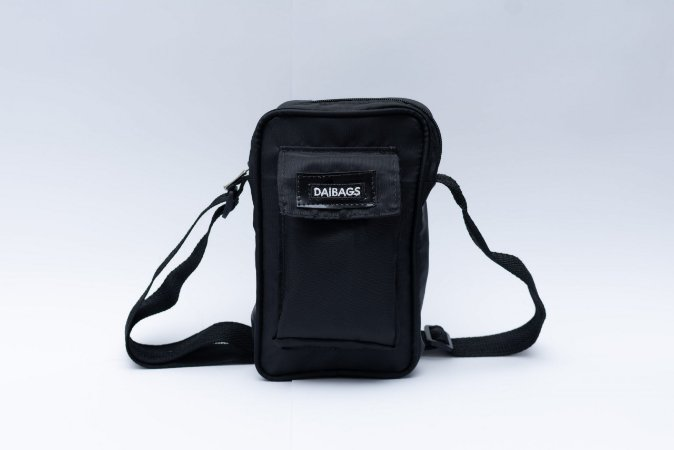 Shoulder Bag Baddie Preta