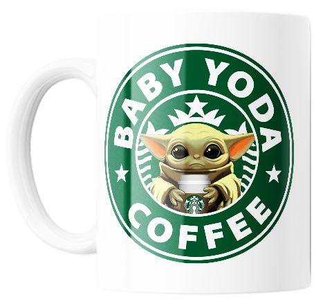 Caneca Personalizada Baby Yoda