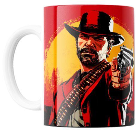 Caneca Personalizada Red Dead Redemption 2
