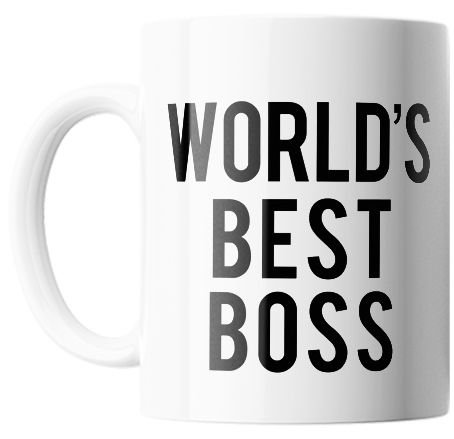 Caneca Personalizada The Office - WORLD'S BEST BOSS