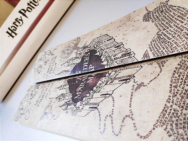 Réplica em Tamanho Real - Mapa do Maroto