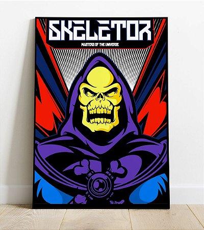 Placa Decorativa -  Esqueleto (He-Man)