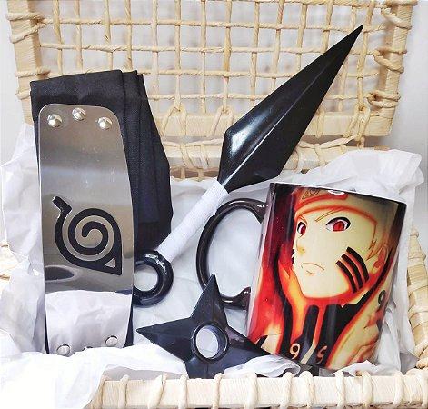 BOX  BECO NERD - Naruto Rikudou e Acessórios