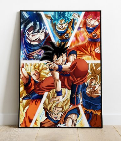 Placa Decorativa -  Dragon Ball