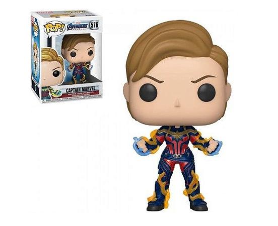 Capitã Marvel - Vingadores Ultimato - Funko Pop