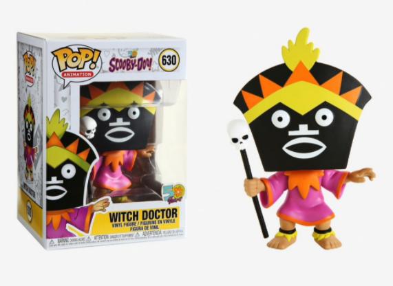 Feiticeiro - Scooby Doo - Funko Pop