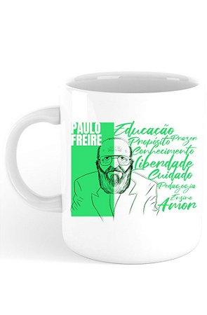 Caneca Paulo Freire
