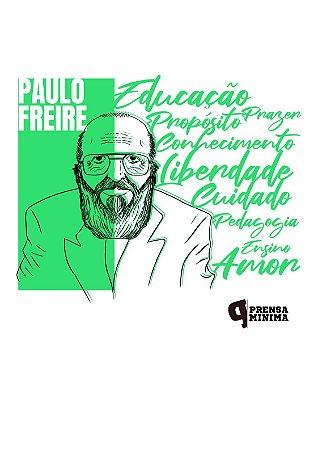 Almofadinha Paulo Freire