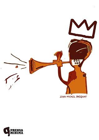 Camiseta Basquiat - Trompetista