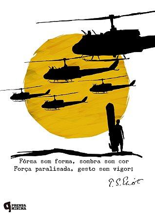 Camiseta Apocalypse Now - T. S. Eliot