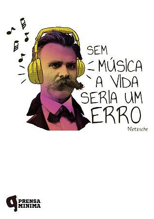 Camiseta Nietzsche & Música