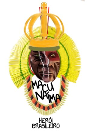 Camiseta Macunaíma, Herói Brasileiro!