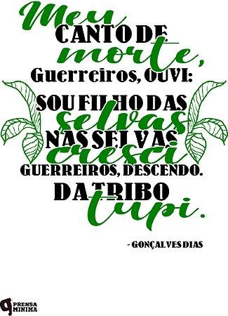 Camiseta Gonçalves Dias