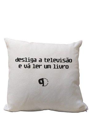 Almofadinha Desliga a Televisão