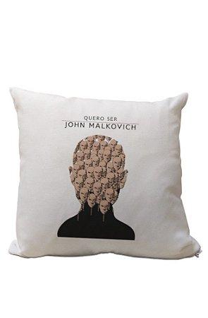 Almofadinha Quero Ser John Malkovich