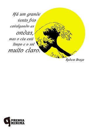 Camiseta Rubem Braga