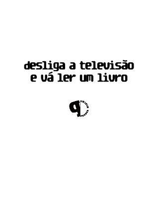 Camiseta Desliga a Televisão