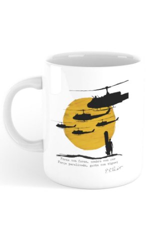 Caneca Apocalypse Now - T. S. Eliot