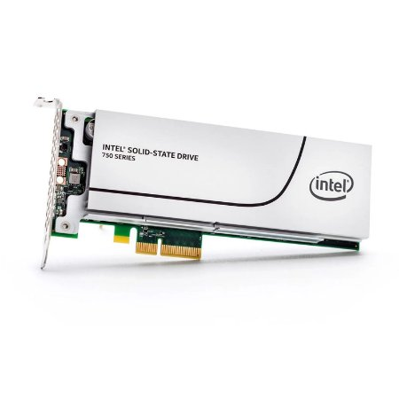 SSD PCI-E Intel 750 Series 1.2TB (2600MBp/s)