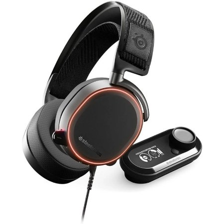 Headset SteelSeries Arctis Pro + GameDAC Gaming Headset - PS4 and PC