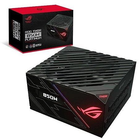 Fonte Asus ROG Thor RGB 850W Platinum Full Modular