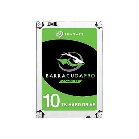 HD Seagate BarraCuda Pro 10TB Sata 6.0GBp/s 256MB