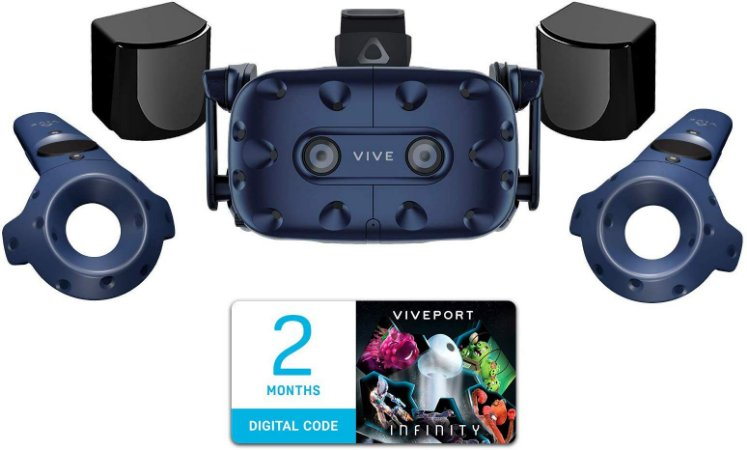 Óculos De Realidade Virtual (VR) HTC Vive Pro Virtual Reality System
