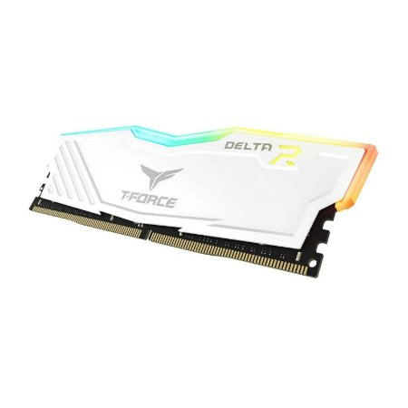 Memória RAM Team Group T-Force Delta II RGB White DDR4 16GB 2x8GB 3000Mhz