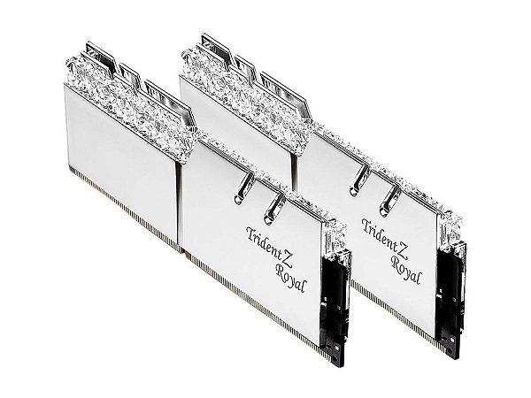 Memória RAM G.Skill Trident Z Royal Series RGB 2x8GB 3200Mhz CL14