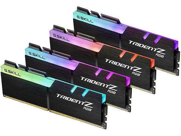 Memória RAM G.Skill Trident Z RGB DDR4 32GB 4x8GB 3200Mhz