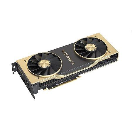 Placa de Vídeo NVIDIA GeForce Titan RTX - 24GB