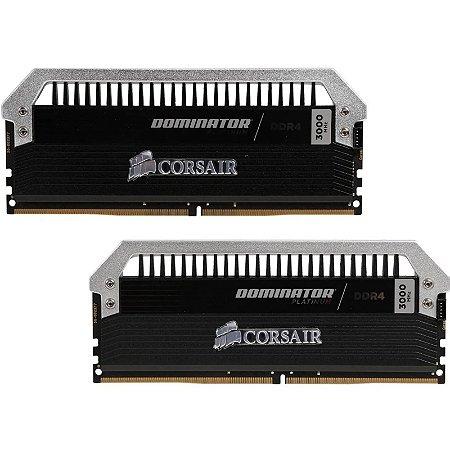 Memória RAM Corsair Dominator Platinum DDR4 2x8GB 3000Mhz