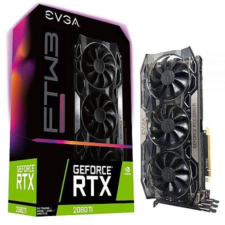 Placa De Vídeo EVGA RTX 2080 Ti FTW3 Ultra 11GB